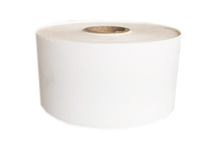 White Matte Poly Polypropylene Self Adhesive Material