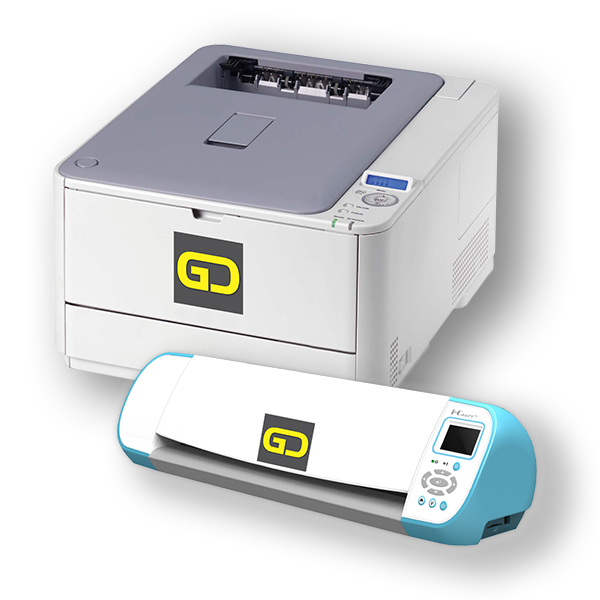 Digital Pinting CMYK and Digital Plotter Cutter knife